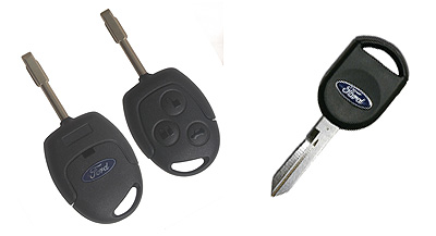 a selection of Ford keys and remotes